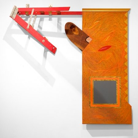 2008, mixed media, 53 x 53 x 16 inches